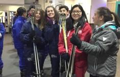 3º y 4º ESO Esquiando en Xanadú
