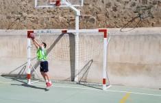 Alumnos de 3º a 6º de Ed. Primaria realizan una prácticas de balonmano gracias al Club Deportivo Amibal de Toledo