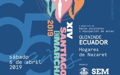 Cartel XIV Marcha Solidaria Santiago el Mayor