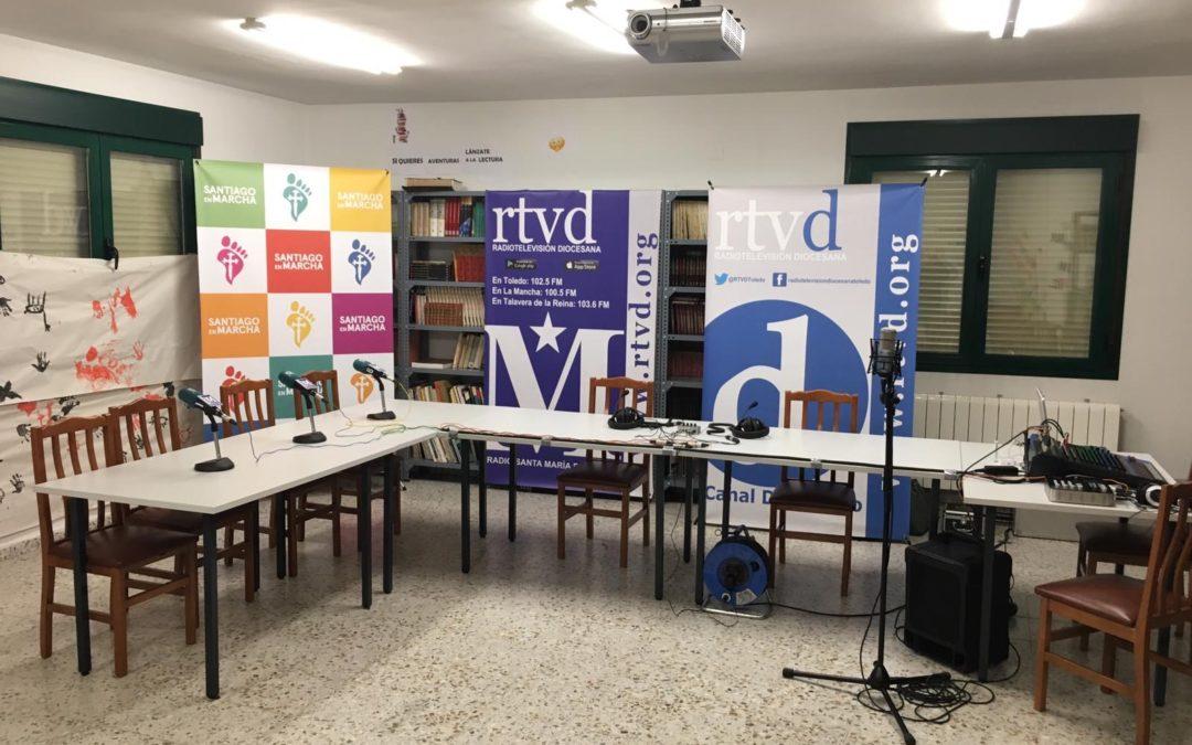 Programa en directo en Radio Santa María.
