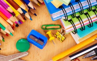Material escolar Curso 2021/2022